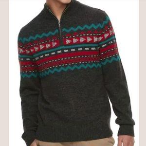 Urban Pipeline Mock Neck Pullover Sweater NEW